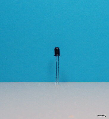 1 Pcs Qsd124 Plastic Silicon Phototransistor 880nm Opto Ir Detectorreceiver