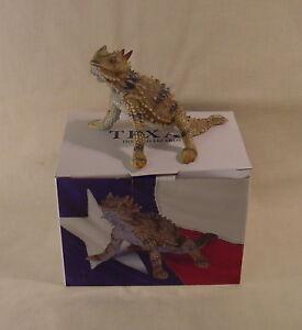 Horned Lizard Toad Frog Figurine Texas Souvenir