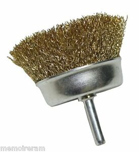 brosse metallique pour poncer poncage metal metaux visseuse perceuse 5cm c1083 ebay. Black Bedroom Furniture Sets. Home Design Ideas
