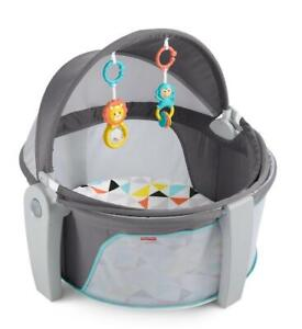 NEW Fisher-Price On-the-Go Baby Dome Condtion: New, Grey