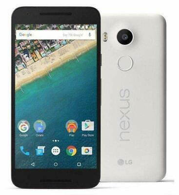 LG Google Nexus 5X Unlocked White H791 32GB Android 8.1 4G LTE Smartphone