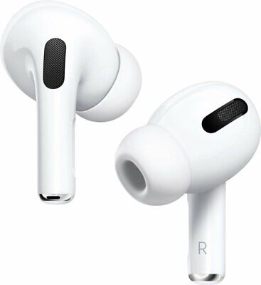 Genuine Apple AirPods Pro with Wireless Charging Case - MWP22AM/A - In Box (VG)