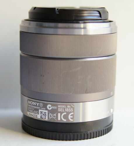 Sony E 18-55mm f/3.5-5.6 OSS SEL1855 Silver Lens for E-Mount #2