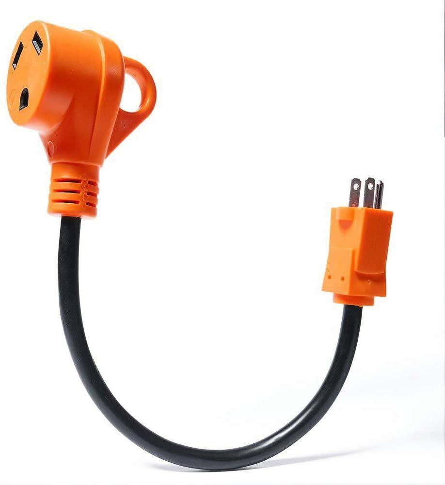 """15 Amp Male to 30 Amp Female,12"""" 12AWG/3Cord RV Electrical Converter Cord eBay Motors"""