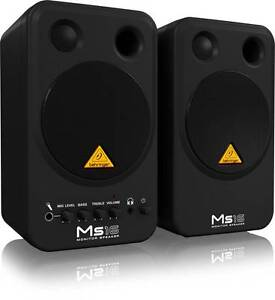 Behringer MS16 Active 16 Watt Personal Monitor System Multi-Media Huntingdale Gosnells Area Preview