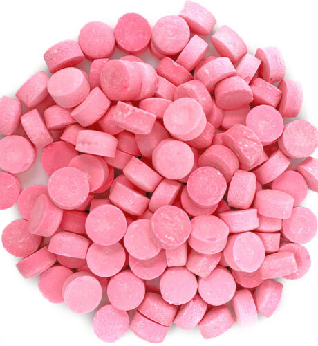 SweetGourmet Pink Wintergreen Lozenges   Canada Mint   Old-Fashioned Candy  