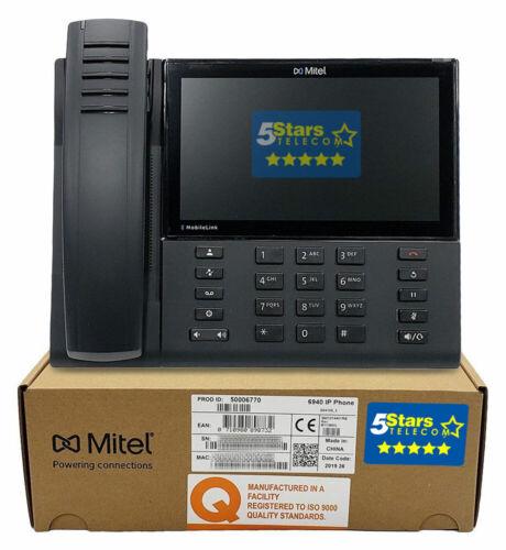 Mitel MiVoice 6940 IP Phone (50006770) - Brand New, 1 Year Warranty