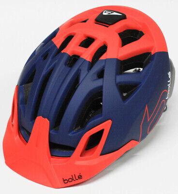 Bolle Erwachsene Fahrradhelm The One MTB Blau/Rot S 51-54 cm Radhelm Helm