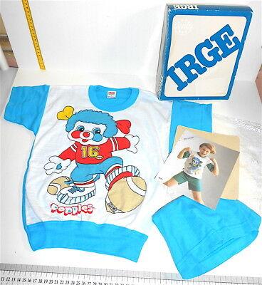 POPPLES 80s Irge italy pajamas size 4 baby mint - pigiama bimbo nuovo box tg 4