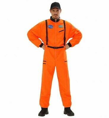 Herren-Kostüm Nasa Astronaut Orange Held Space Overall Herrenkostüm - Herren Orange Astronaut Kostüm