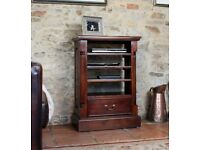 Dark Mahogany Entertainment Unit NEW