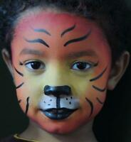 Professional face painting for parties - Oshawa area