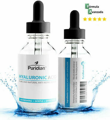 Suero Acido Hialuronico PURO Concentrado Reduce Arrugas y Elimina Manchas Piel