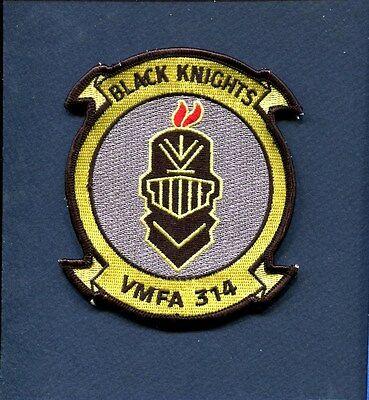 VMFA-314 BLACK KNIGHTS USMC MARINE CORPS F-18 Hornet Fighter Squadron Patch