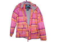 Girls Ski Coat Jacket Age 9-10 Trespass waterproof and windproof