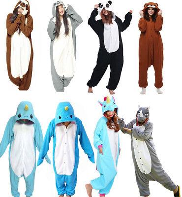 Unisex Animal One piece Cosplay Kigurumi Halloween Jumpsuits Sleepwear pajamas  ](Jumpsuit Halloween)