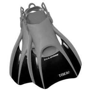 NEW U.S Divers Trek Fin - Compact Snorkel Fins for Travel Condition: New