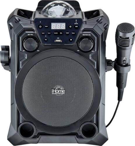 iHome Sound Factory Bluetooth Karaoke - Black - In Retail Box - UD