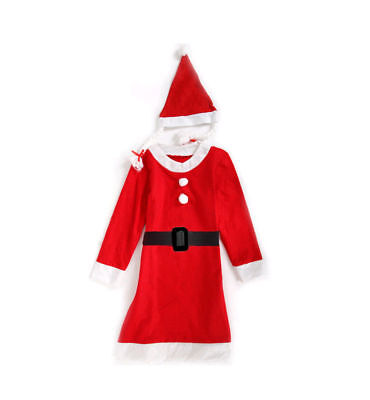 Sexy Miss Santa Clause Christmas Costume Outfits Womens Xmas Party Ladies Dress (Miss Clause Costume)