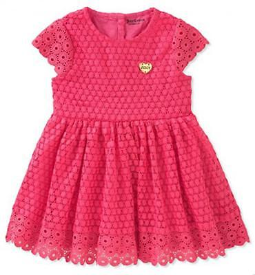 Juicy Couture Infant Girls Fuchsia Dress Size 12M 18M 24M $60 - Infant Couture Dresses