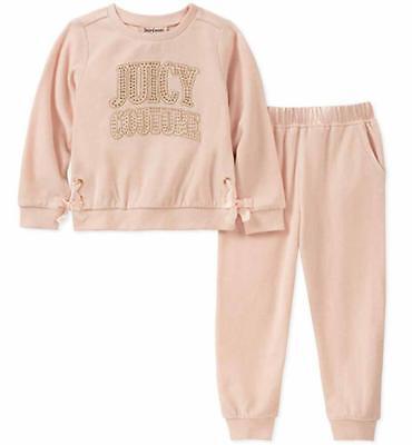 Juicy Couture Mädchen Rosa 2 Stück Jogging Set Größe 2T 3T 4T 4 5 6 6x 7 ()