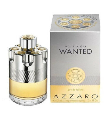 Azzaro Wanted By Azzaro 3 4 Oz Edt Cologne For Men New In Box