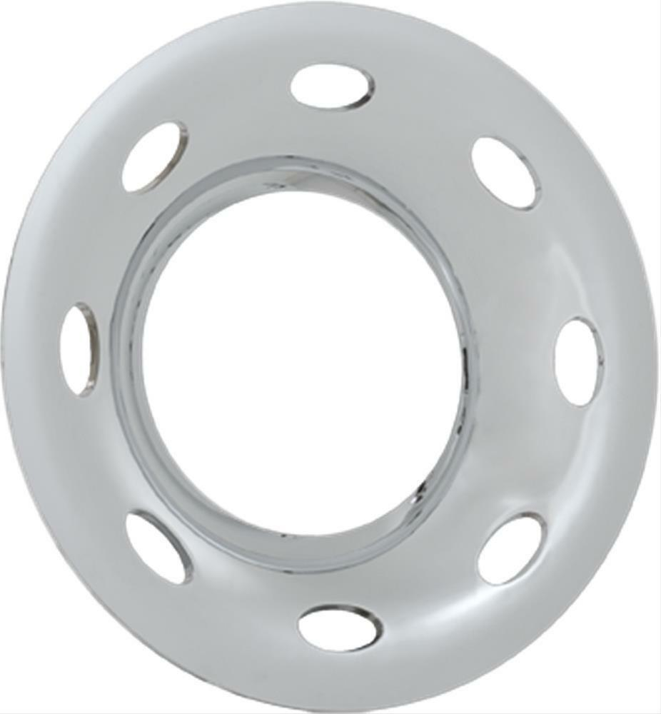 "Phoenix USA Chrome Quick Trim 16"" Trailer Wheel Cover Ring QT6556CLO"