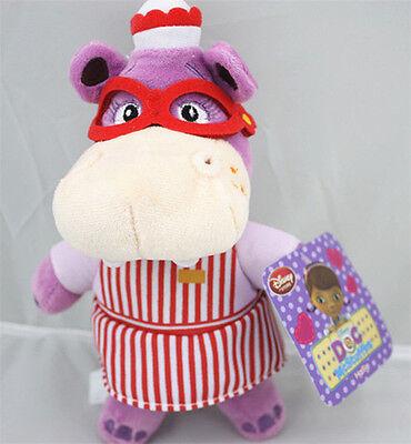 Disney Jr Doc McStuffins Hallie Hippo Plush Doll Stuffed Figure Toy Gift 8