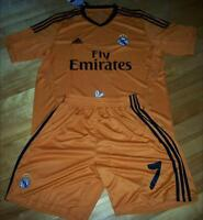 Jersey soccer avec Short REAL MADRID 2014 - RONALDO - THIRD