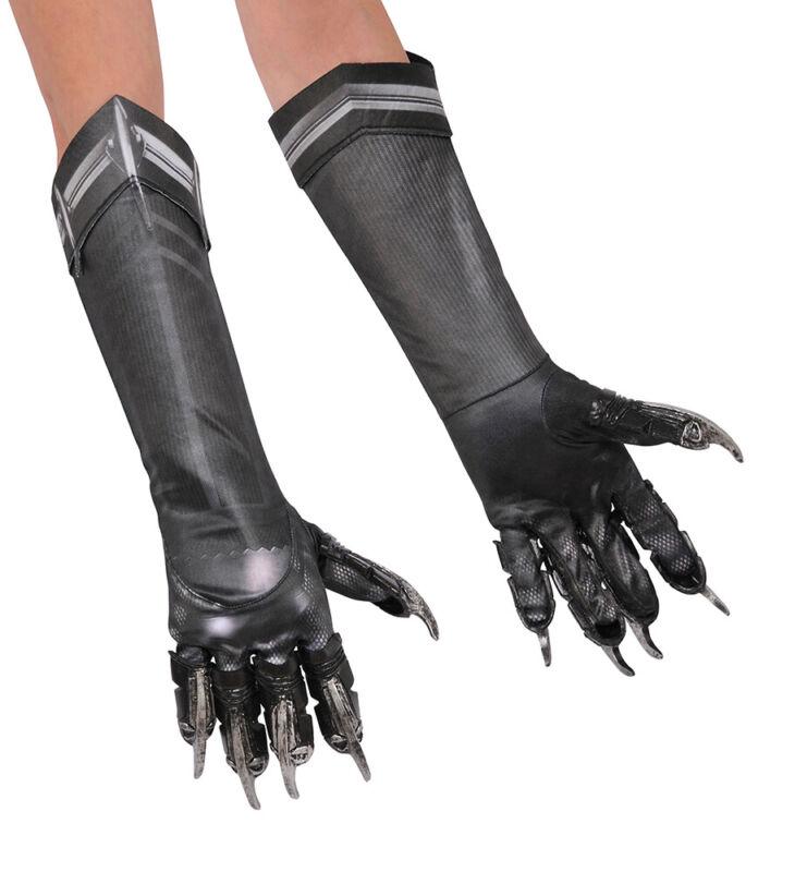 Kids Black Panther Halloween Gloves