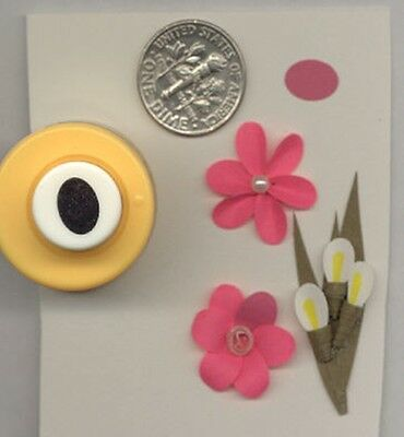 Mini Oval 8mm Paper Punch by Punch Bunch Use With Quilling-Scrapbook-Cardmaking  - Mini Scrapbook