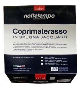COPRIMATERASSO-100-SPUGNA-DI-COTONE-JACQUARD-GABEL