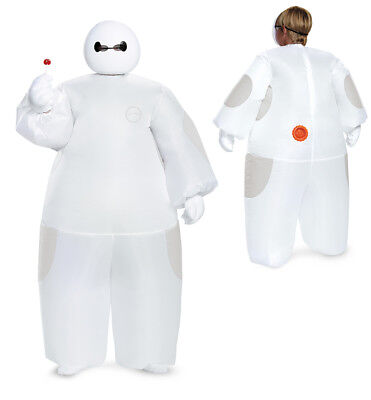 Kids Disney Big Hero 6 Inflatable White Baymax Costume