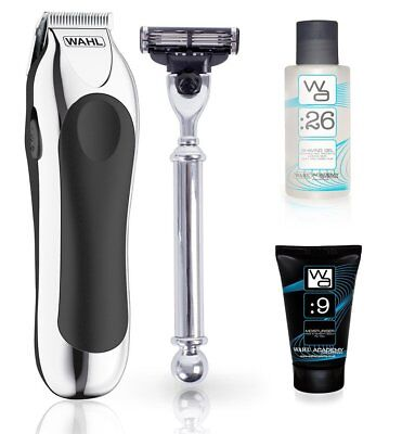 Wahl Shave and Trim Set Professional Battery Trimmer and Razor