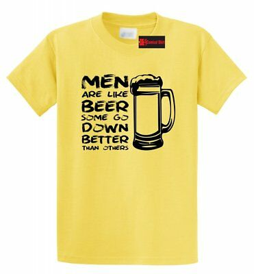 Men Like Beer Go Down Better Than Others Funny T Shirt Sex Rude Humor