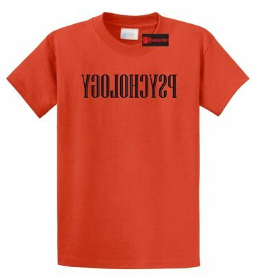 Reverse Psychology Funny T Shirt College Humor Funny Party Tee -