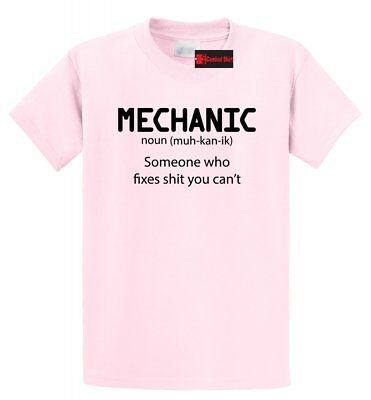Mens Humor (Mechanic Someone Who Fixes S**t You Cant Mens T Shirt Funny)