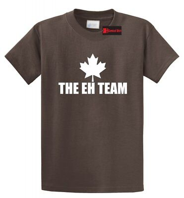 The Eh Team Funny T Shirt Maple Leaf Canadian Canada Unisex Tee S-5XL Canada Unisex T-shirt