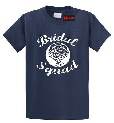 Bridal Squad Flowers T Shirt Bridesmaid Tee Shirt Bridal Shower Gift -