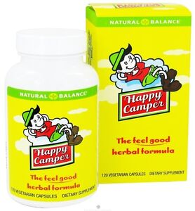 Natural Balance Happy Camper 120 Vegetarian Capsules (#1202)