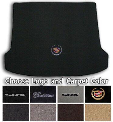 Cadillac SRX Classic Loop Carpet Floor Trunk Mat - Choose Color & Logo