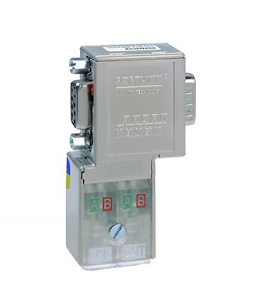 Profibus Dp Connector With Opto-isolatorwith Programming Prot 300 972-bb6000
