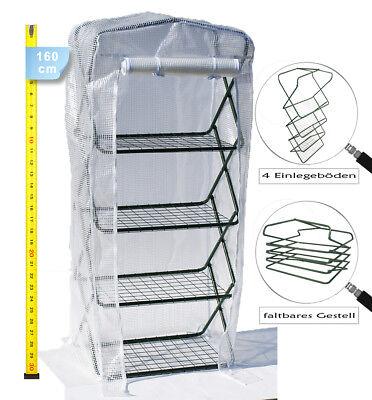 """Invernaderos de Plástico Plegable 160cm Rejilla Aluminio Huerto Protegido Tipo """""""