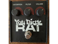 ProCo You Dirty Rat - Classic Guitar Distortion Pedal