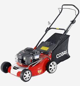 Cobra M46SPB 18inch; petrol lawnmower Self Drive