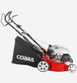 Cobra M46SPC 18 inch petrol lawnmower Cobra DG450 Series engine