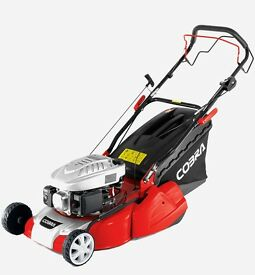 Cobra roller power drive lawnmower lawn mower