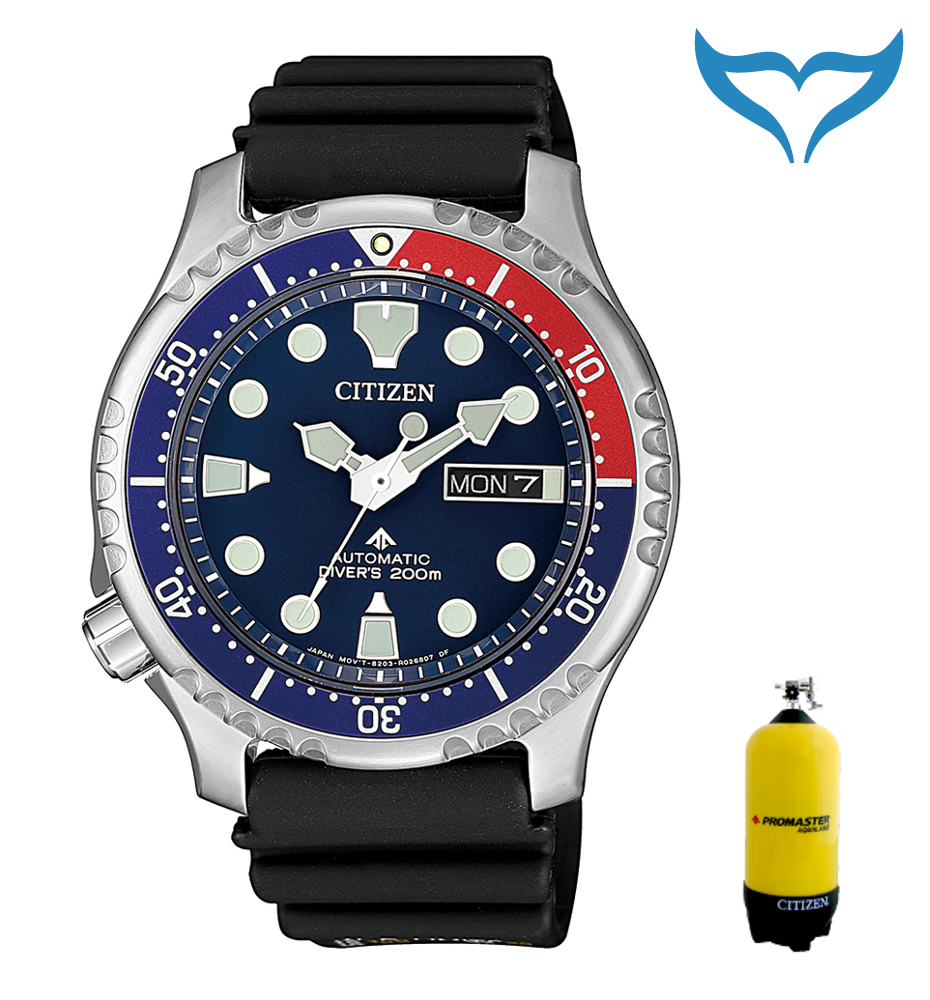 Citizen Promaster Marine NY0086-16LE 20bar Automatik Uhr TaucherUhr ArmbandUhr N