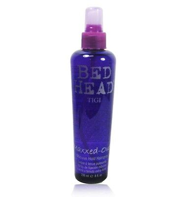 TIGI Bed Head Maxxed Out Massive Hold Hair Spray 8 oz ( scuffed Pack of (Out Hold Hair Spray)