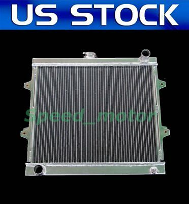 New 2 Row All Aluminum DR Champion Radiator For 1984   95 Toyota Pickup4Runner